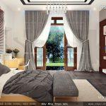 Thiết kế phòng ngủ biệt thự hiện đại
