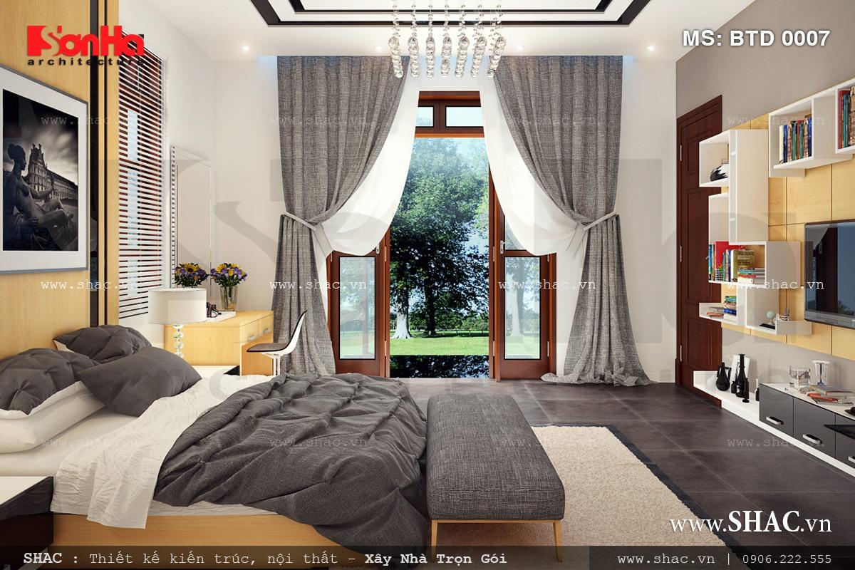 Biệt thự hiện đại 3 tầng tại Kiên Giang - BTD 0016 17