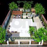 Thiết kế sân vườn biệt thự đẹp