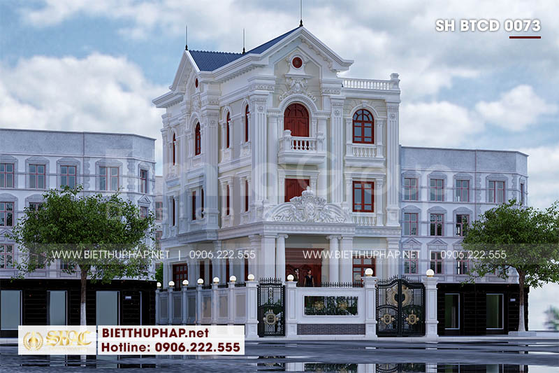 Thiết kế biệt thự tân cổ điển đẹp tại Sài Gòn