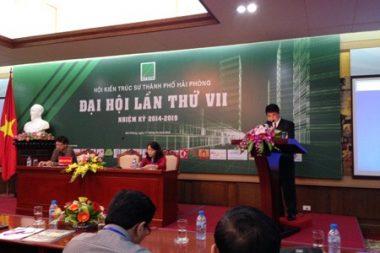 SHAC tham dự Đại hội KTS Hải Phòng lần thứ 7