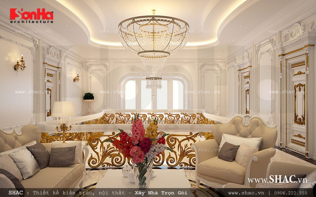Phòng khách tầng 2