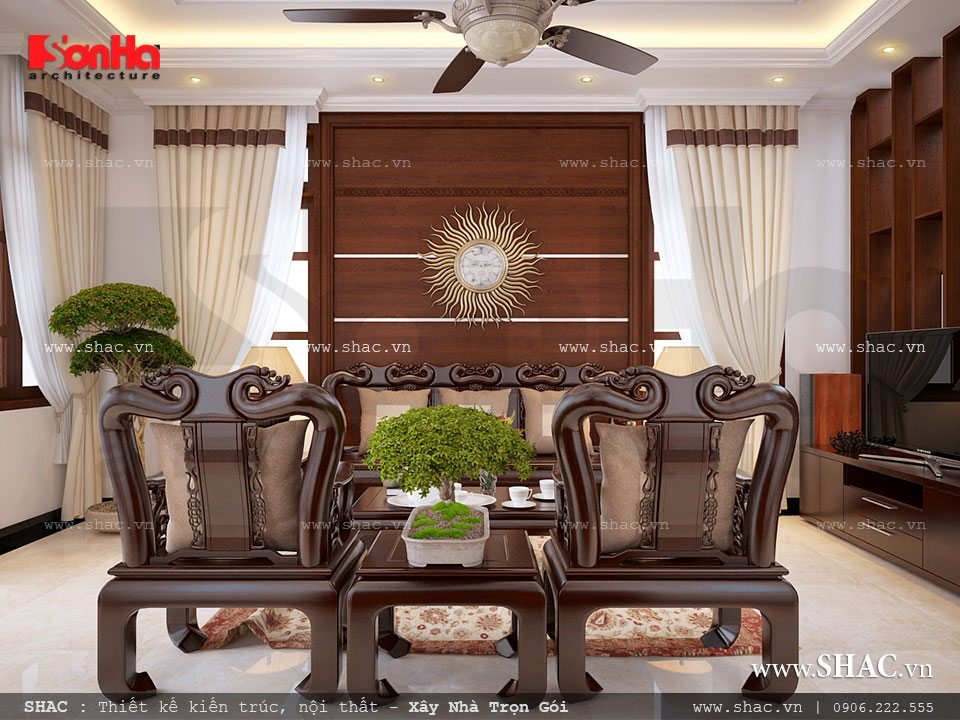 Mẫu bàn ghế gỗ đẳng cấp