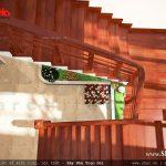 Thiết kế cầu thang sang trọng
