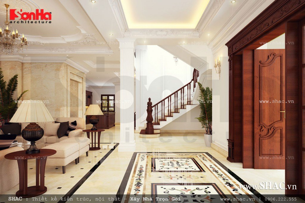 Thiết kế không gian biệt thự đẹp