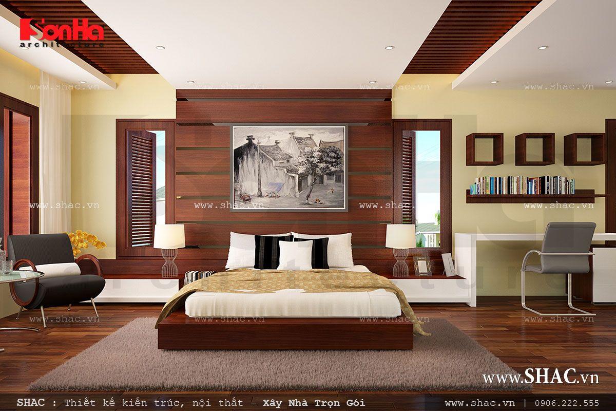 Biệt thự 2 tầng kiến trúc hiện đại - BTD 0008 8