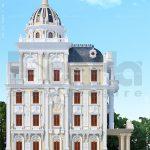 Thiết kế kiến trúc biệt thự Pháp