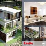 Thiết kế mẫu nhà ống bán biệt thự hiện đại 3 tầng