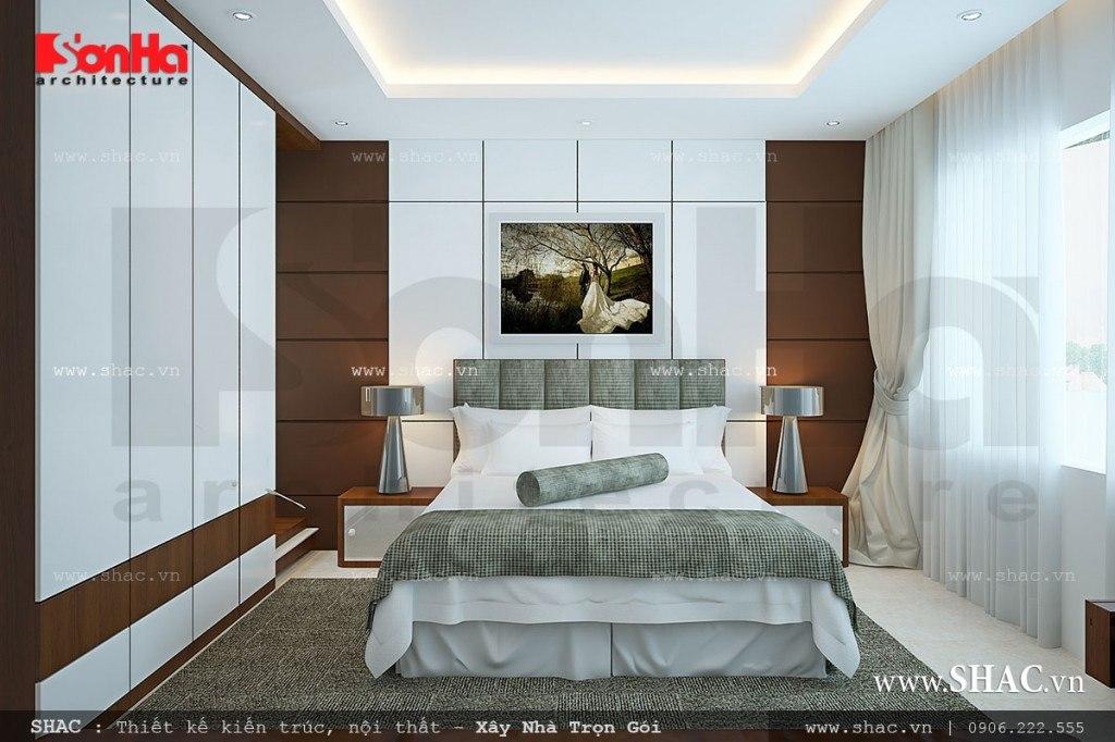 Phòng ngủ đẹp phong cách hiện đại