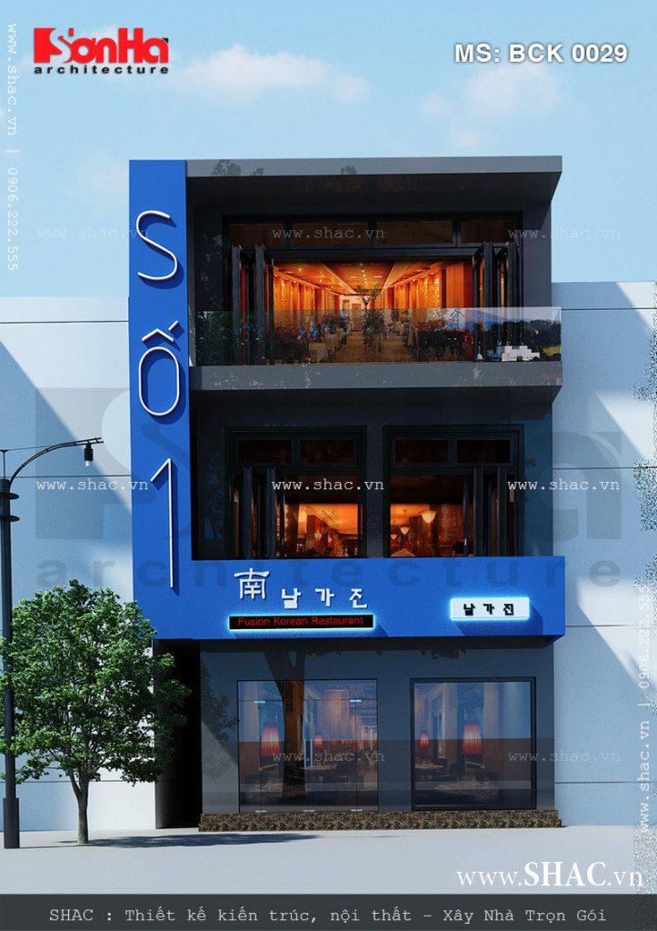 Thiết kế nhà hàng bbq cao cấp - bck 0029