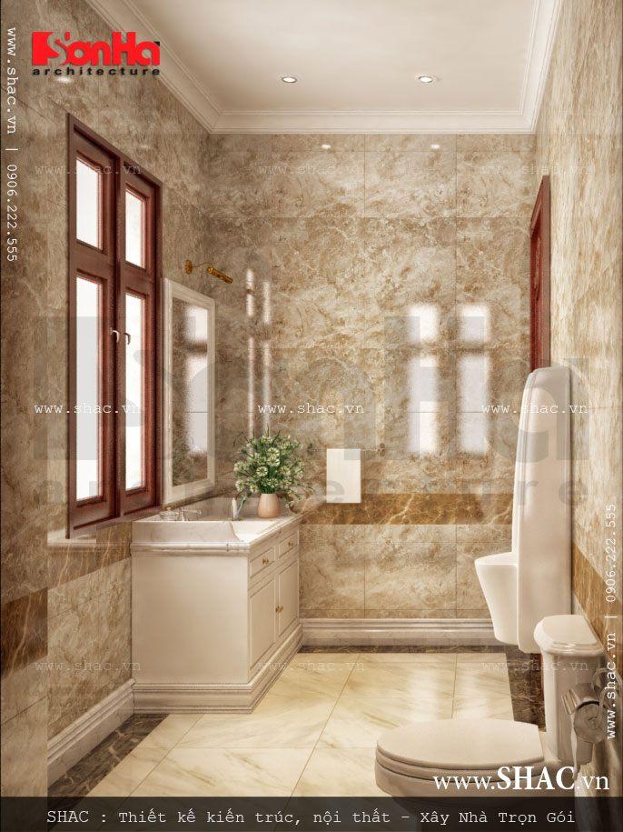 Thiết kế nhà vệ sinh sang trọng