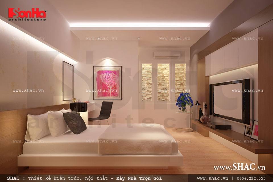 Mẫu nội thất hiện đại cho phòng ngủ đơn giản