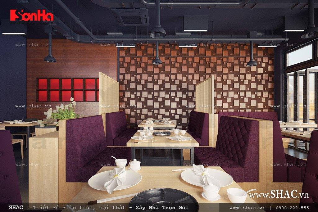 Nội thất nhà hàng bbq