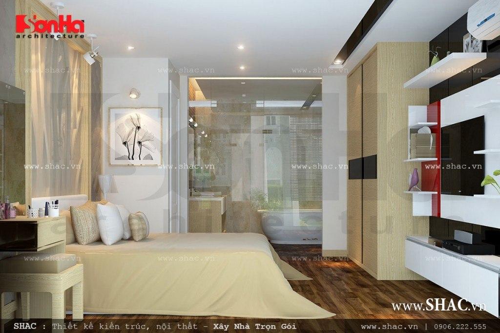 Phòng ngủ đẹp cho bố mẹ