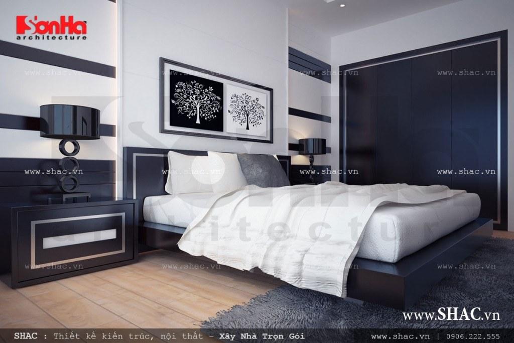 Nội thất phòng ngủ hiện đại đẹp và sang trọng