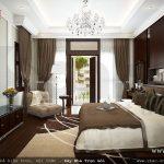 Thiết kế phòng ngủ với nội thất sang trọng