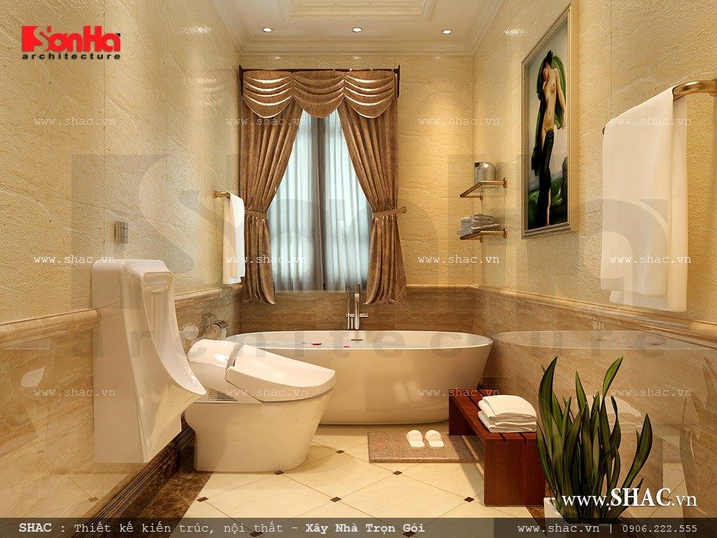 Thiết kế nội thất đẳng cấp cho phòng WC