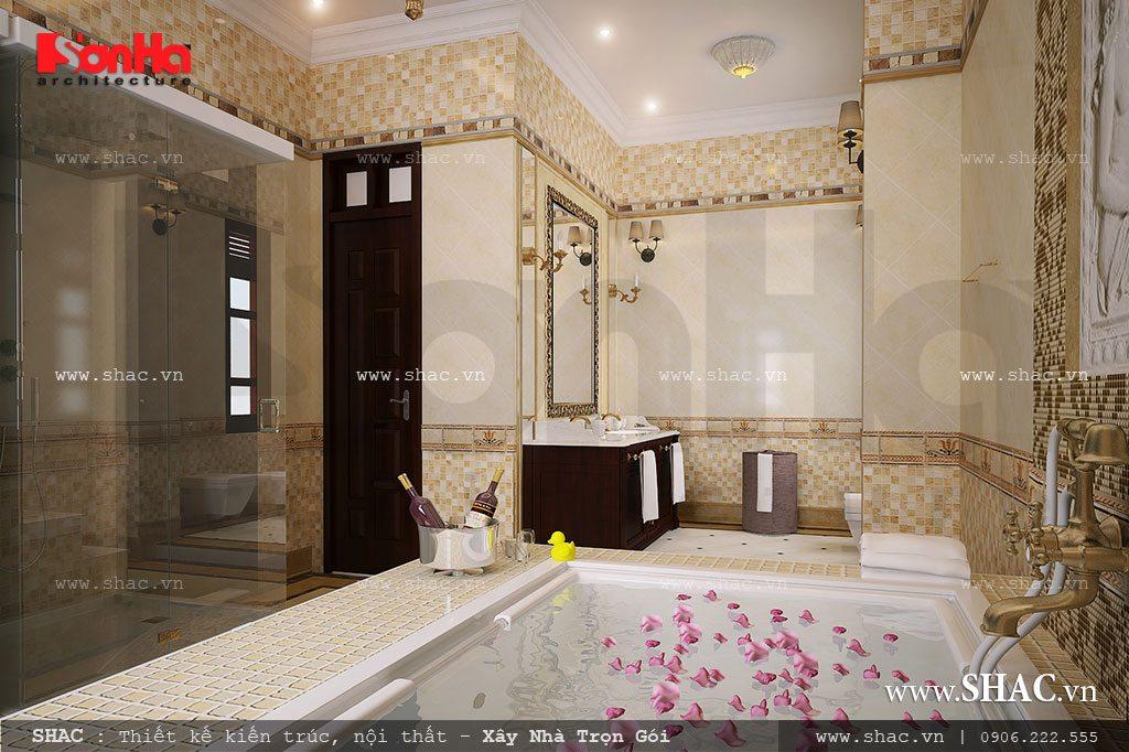 Nội thất phòng WC đẹp và đẳng cấp