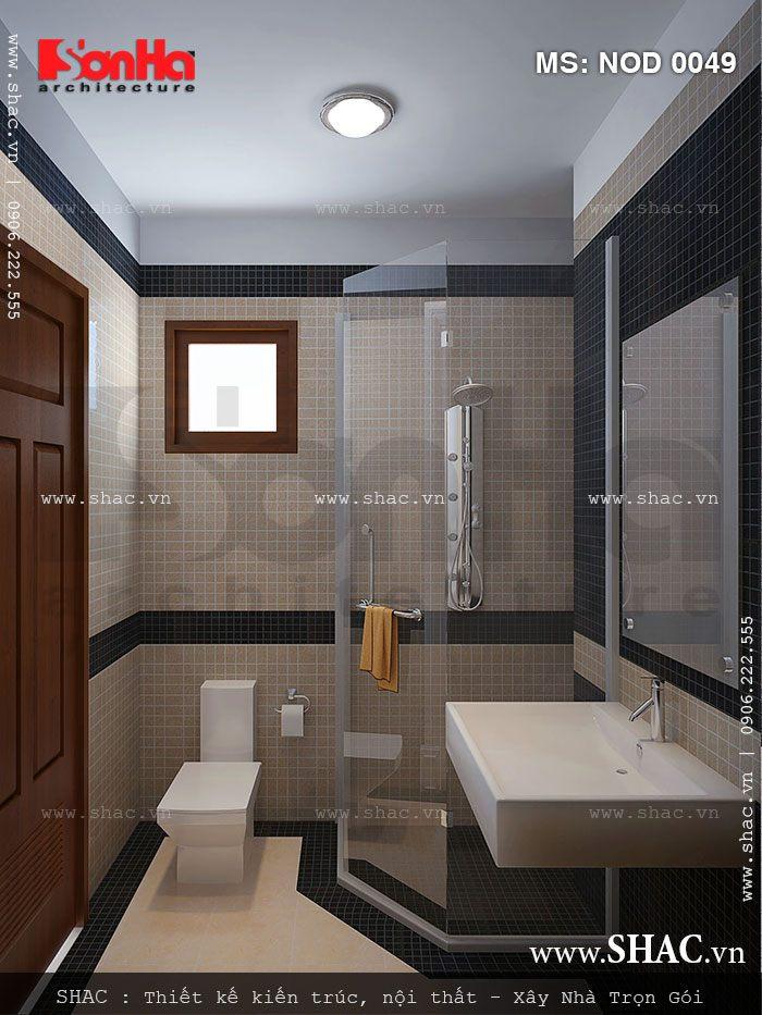 Mẫu nội thất WC đẹp