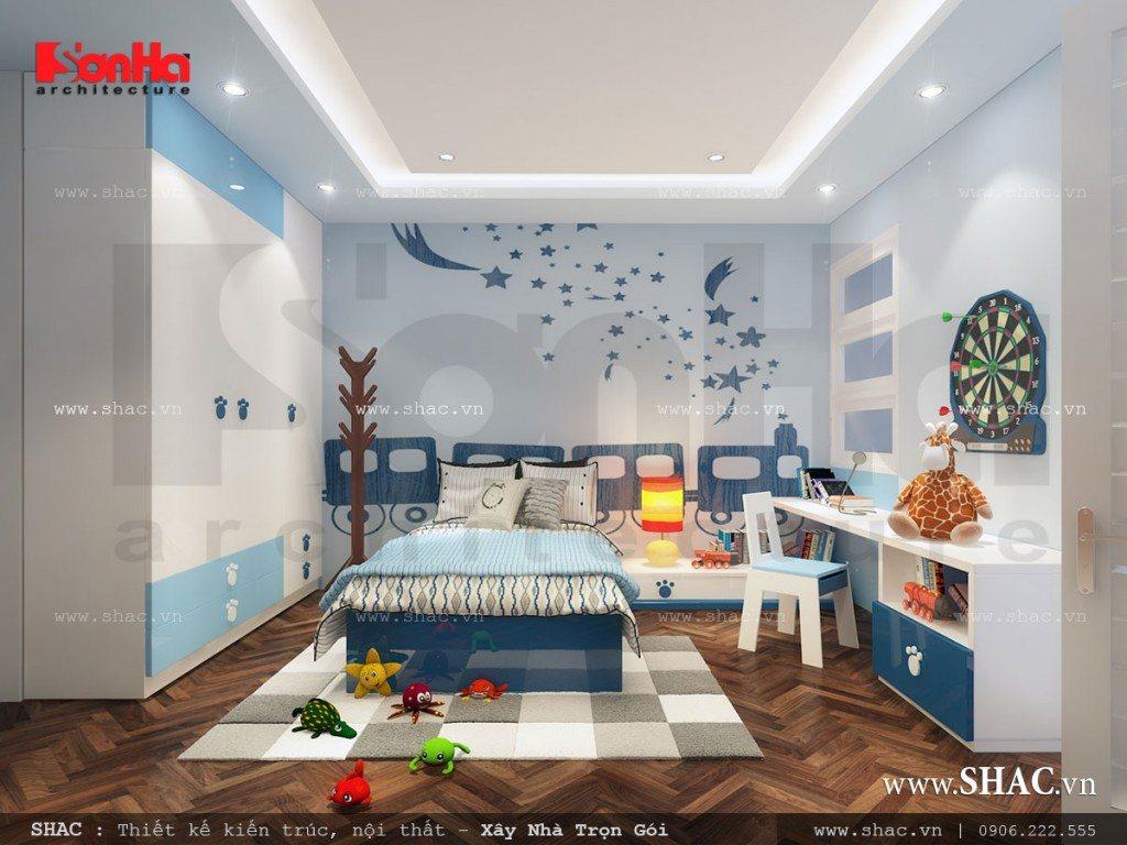 Phòng ngủ cho con trai