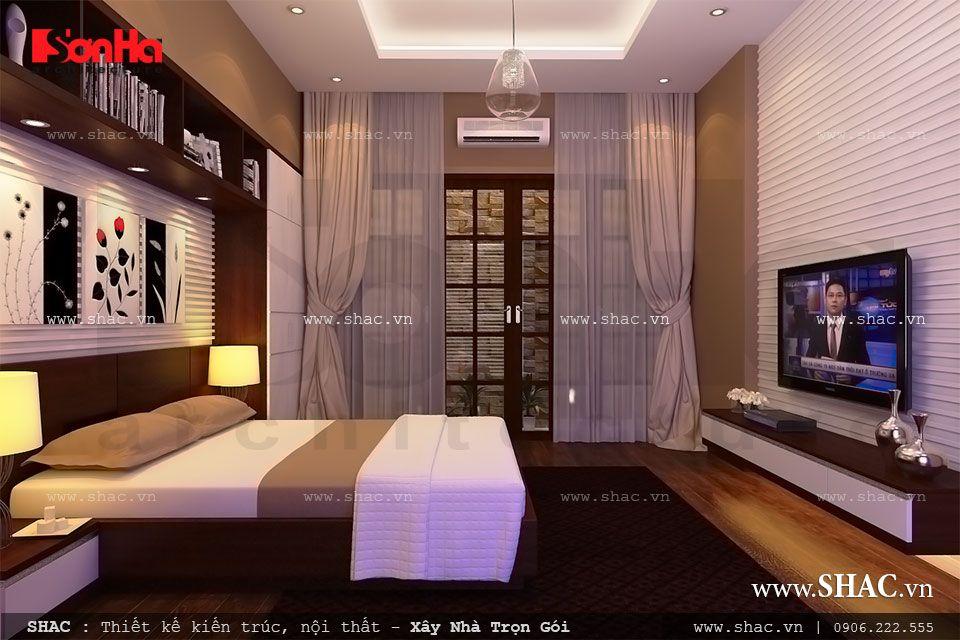 Thiết kế phòng ngủ cho ông bà