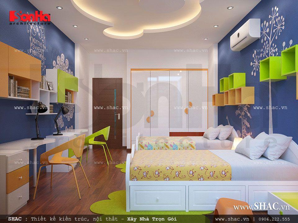 Phòng ngủ cho con trai đẹp