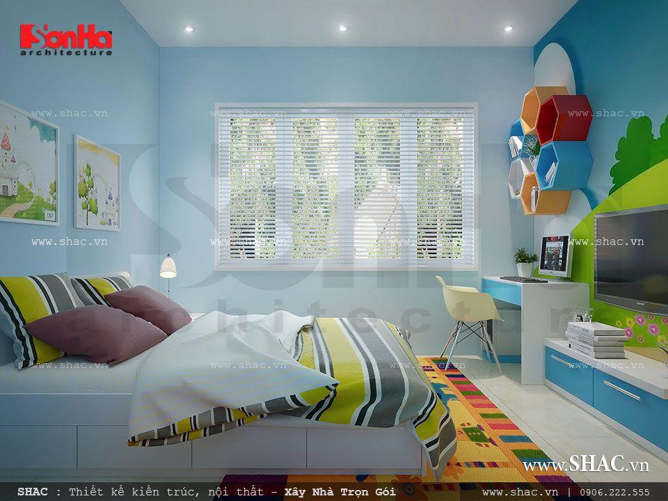 Mẫu phòng ngủ đẹp cho con trai
