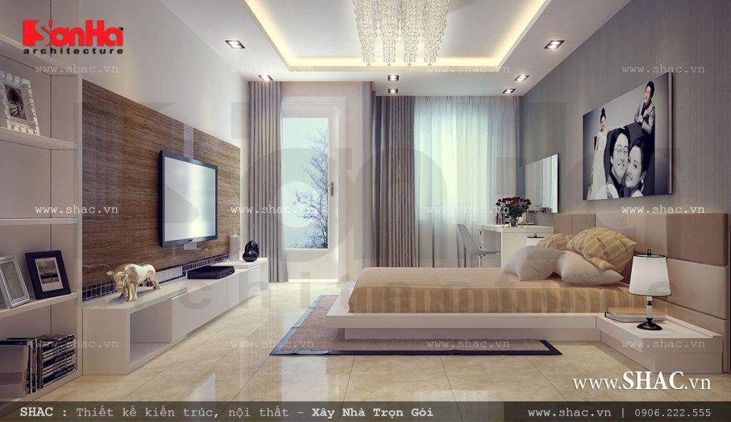 Thiết kế phòng ngủ đẹp cho vợ chồng son