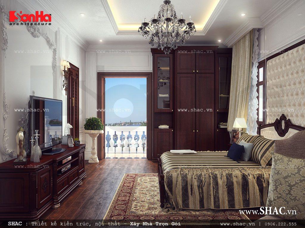 Thiết kế không gian phòng ngủ đẹp và đẳng cấp