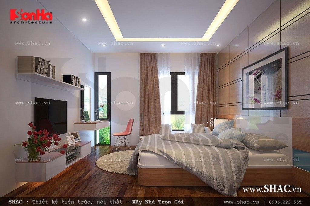 Phòng ngủ lãng mạn phong cách hiện đại