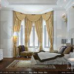 Phòng ngủ thiết kế theo phong cách Châu Âu
