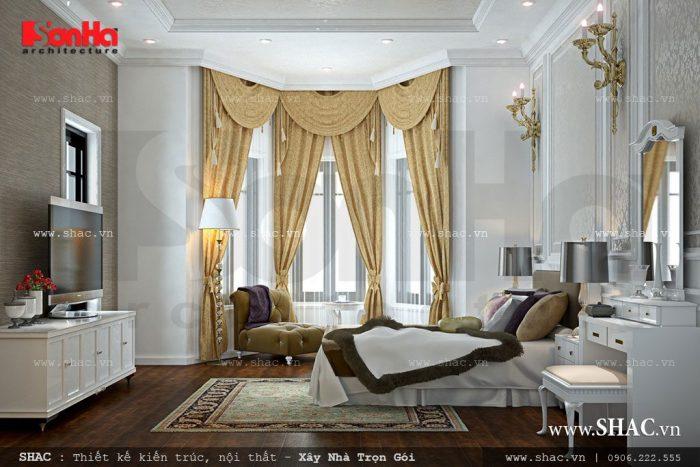 Phòng ngủ thiết kế theo phong cách cổ điển nâng giá trị cuộc sống lên một tầm cao mới