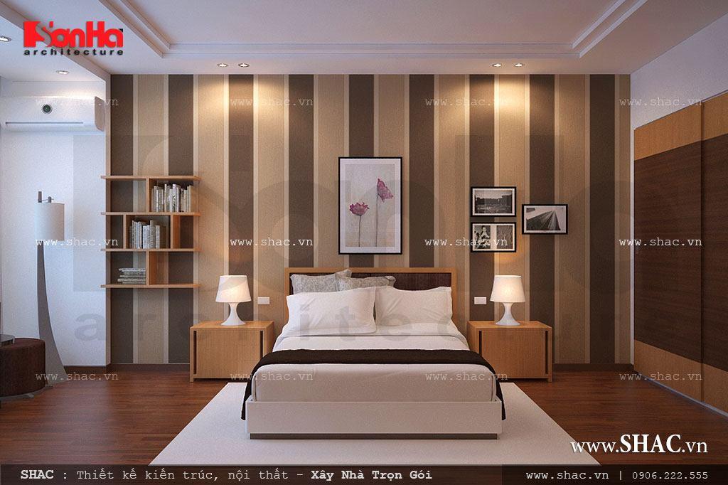 Phòng ngủ phong cách hiện đại đẹp