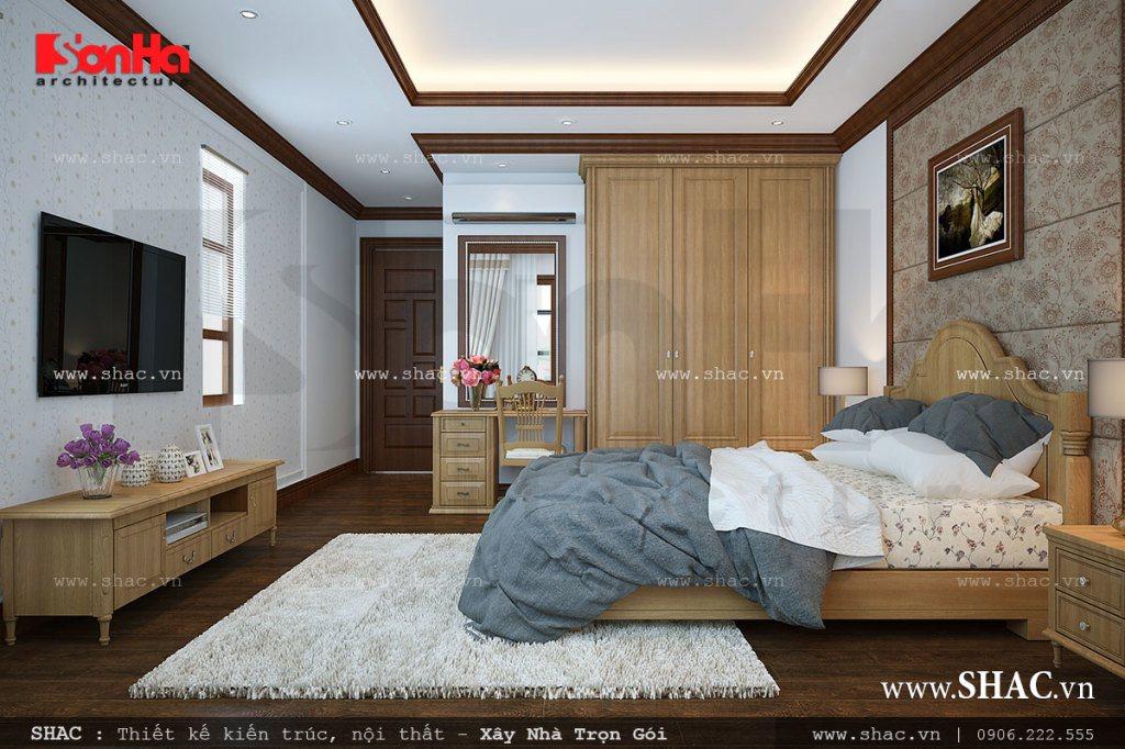 Mẫu phòng ngủ nhẹ nhàng hiện đại
