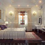 Mẫu phòng ngủ phong cách Pháp cổ điển