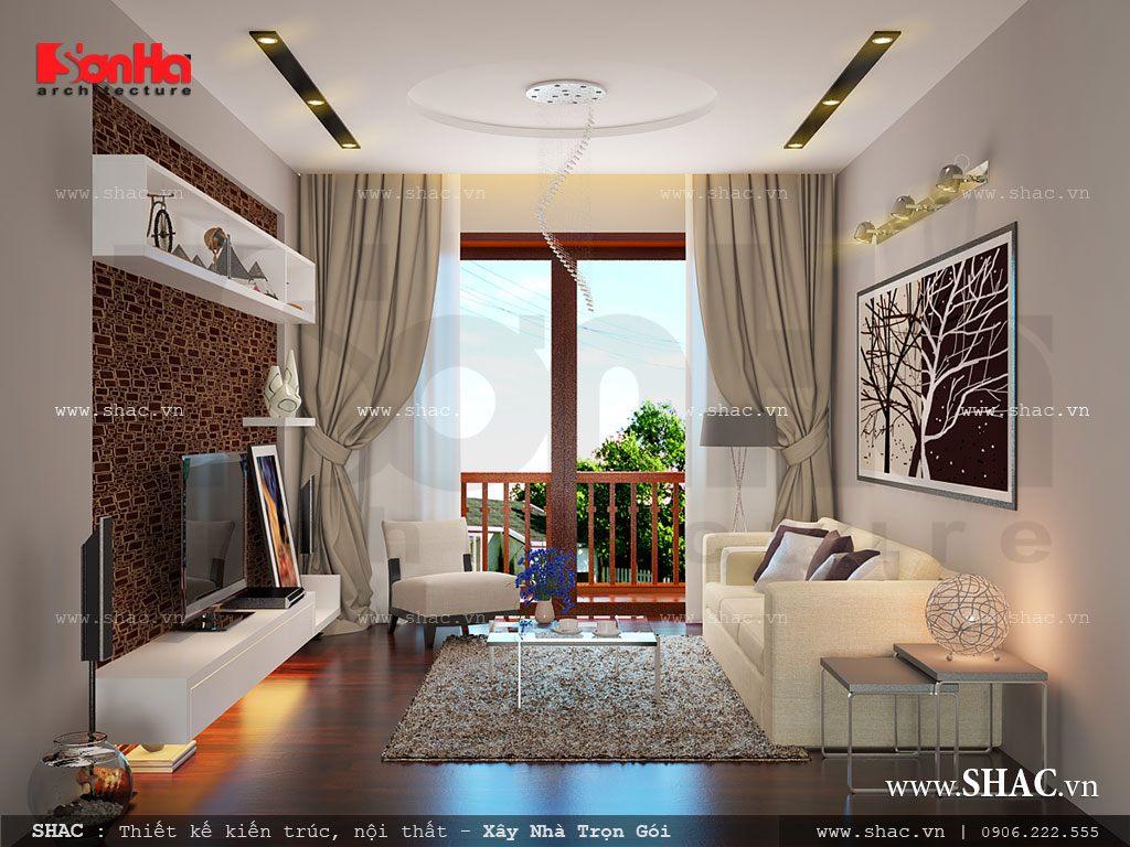 Biệt thự 2 tầng kiến trúc hiện đại - BTD 0008 13