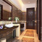 Thiết kế phòng vệ sinh đẹp