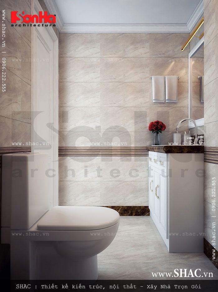 Thiết kế phòng WC hiện đại