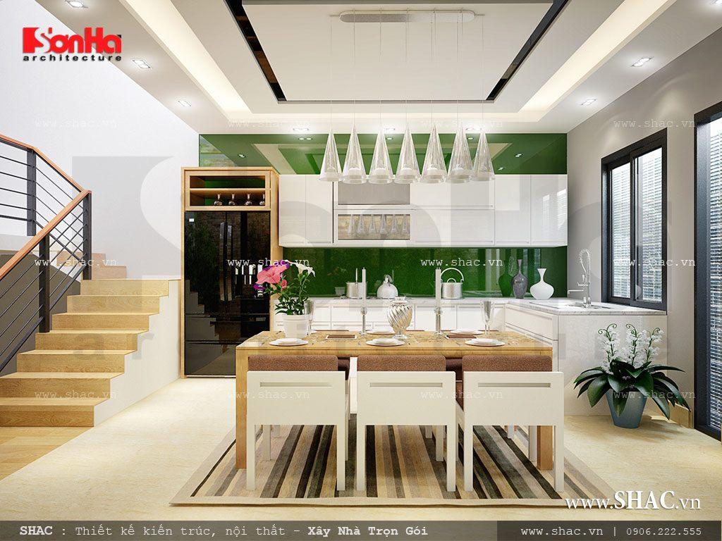 Thiết kế nhà ống 3,5 tầng theo kiến trúc hiện đại - NOD 0063 8