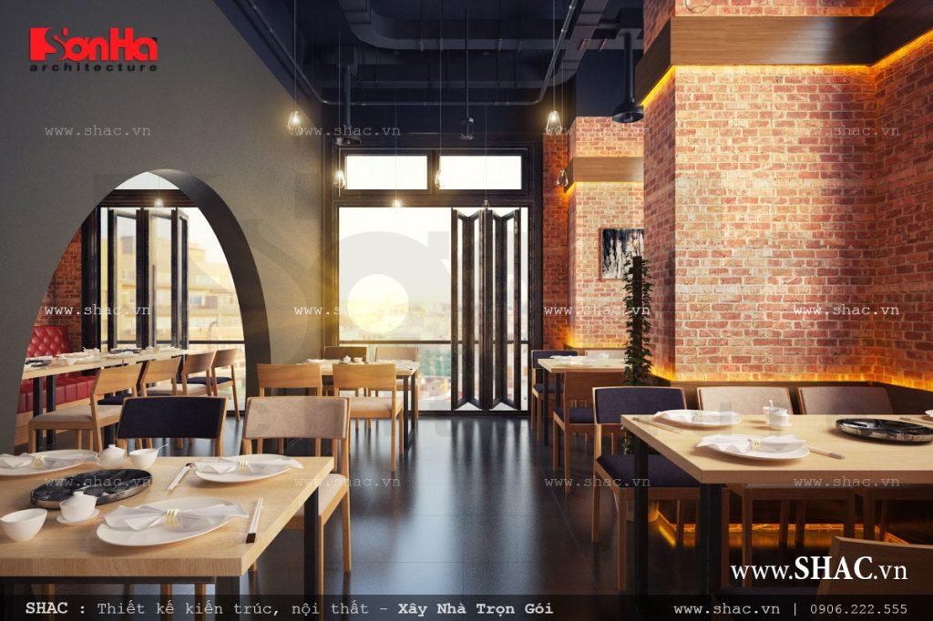 Mẫu thiết kế nhà hàng đẹp và sang trọng