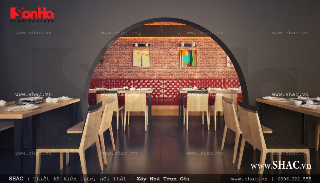 Thiết kế không gian độc đáo cho nhà hàng