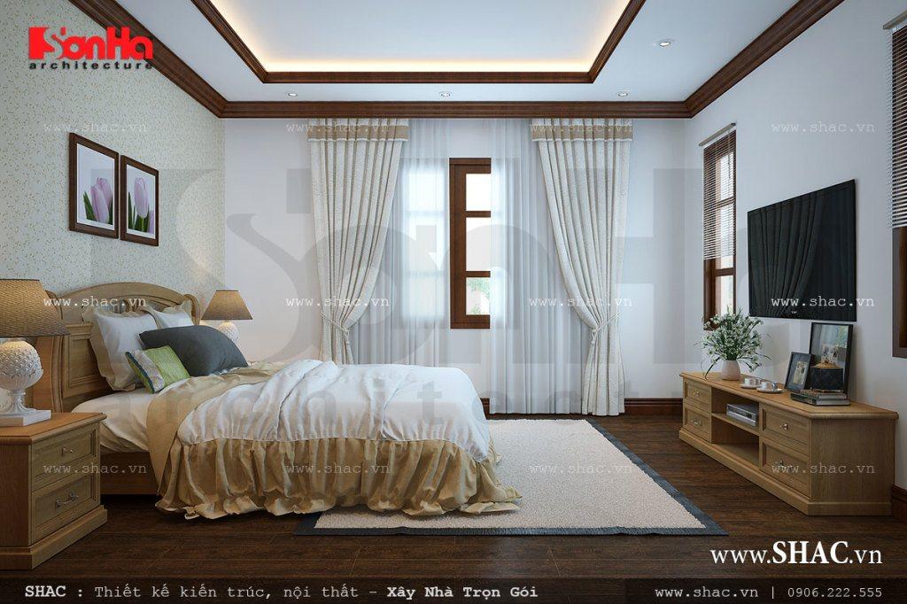 Thiết kế không gian nội thất phòng ngủ đẹp