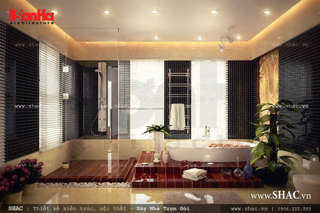 Biệt thự 2 tầng kiến trúc hiện đại - BTD 0008 11