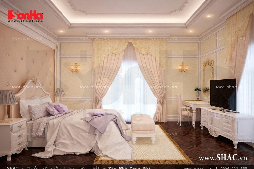 Nội thất phòng ngủ lãng mạn