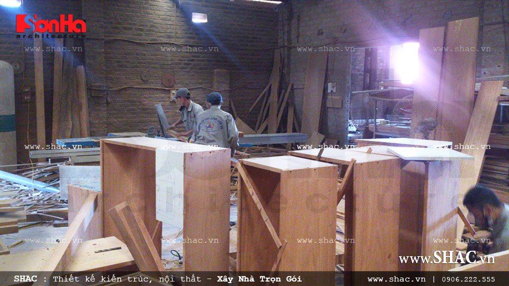 Sản xuất và thi công đồ gỗ nội thất 8