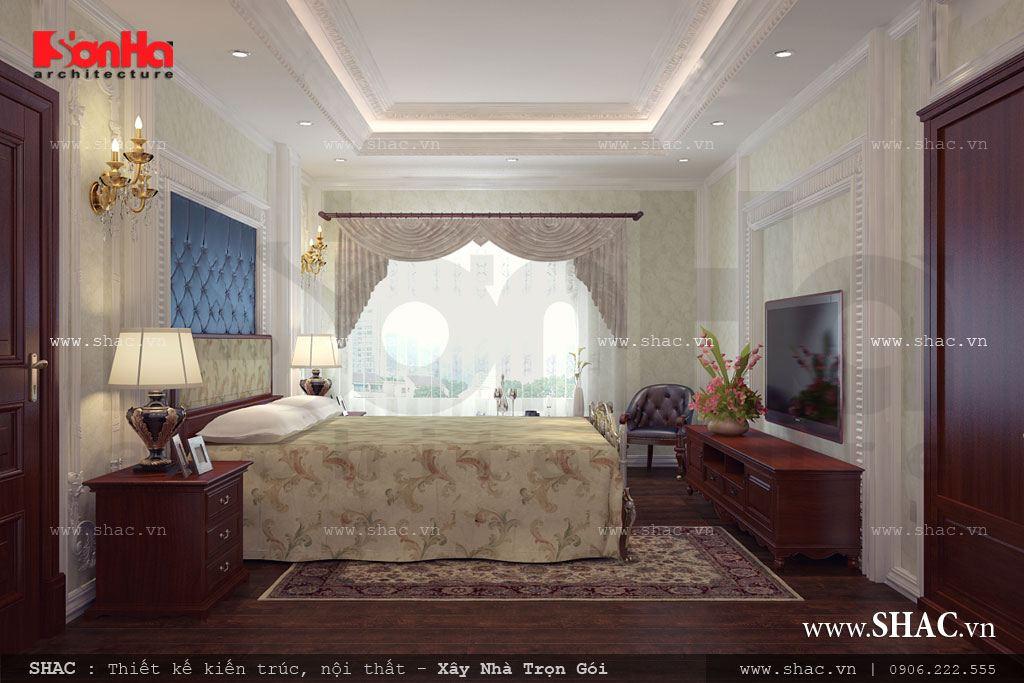 Phòng ngủ đôi thoáng
