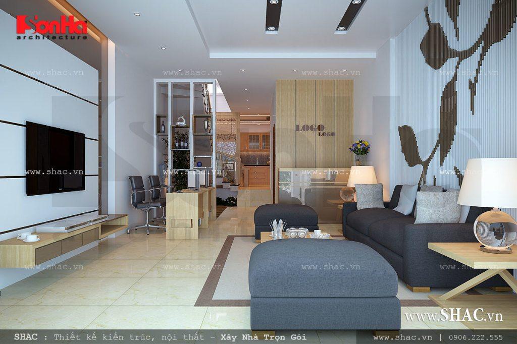 Phòng khách tinh tế