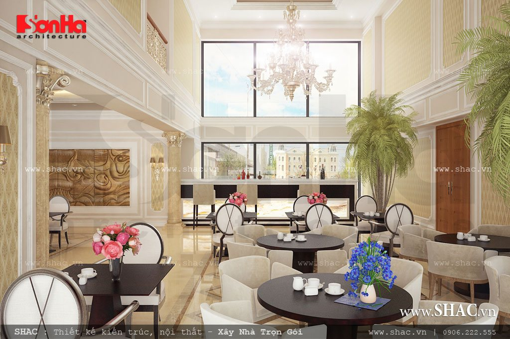 Khu cafe khách sạn 4 sao