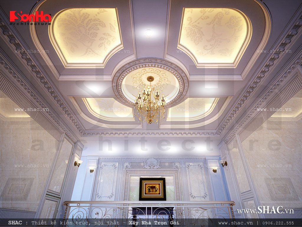 Thiết kế trần khách sạn