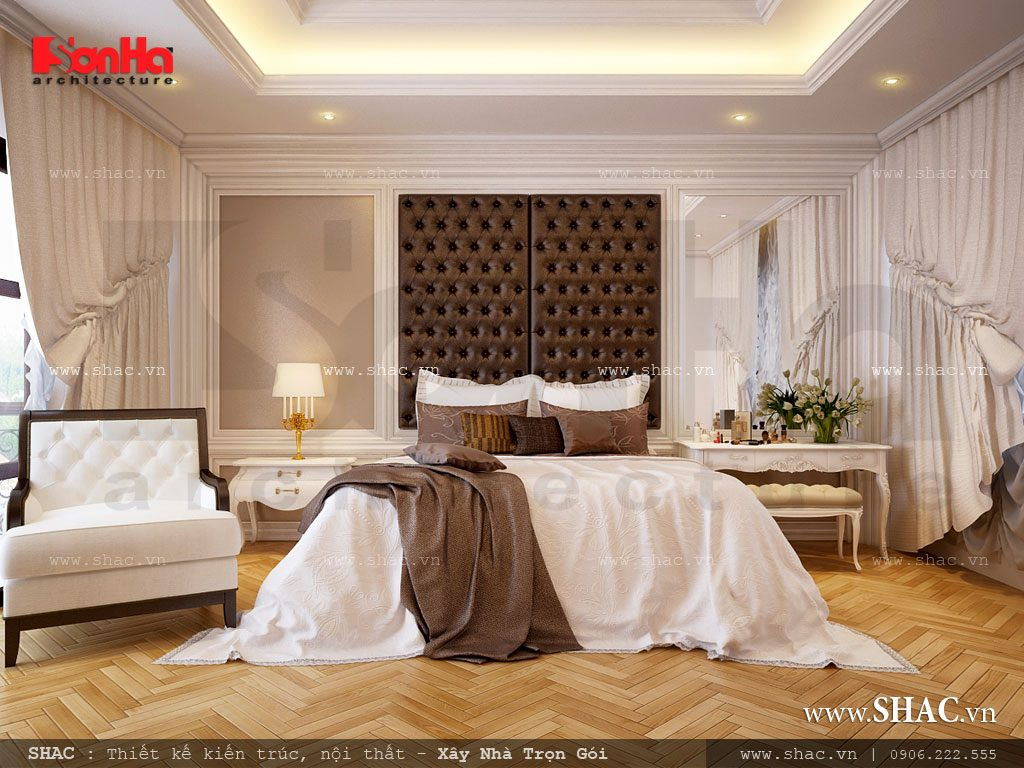 Thiết kế phòng ngủ nội thất đẹp